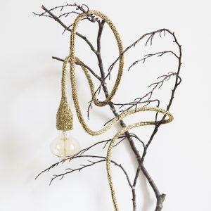 Lampe baladeuse doré sur branche TRENDY LITTLE