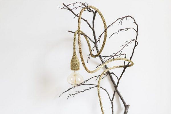 Lampe baladeuse or sur branche d'arbre TRENDY LITTLE