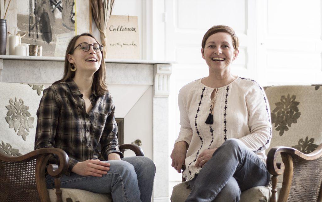Maud et Véronique, les piliers de l'atelier TRENDY LITTLE.