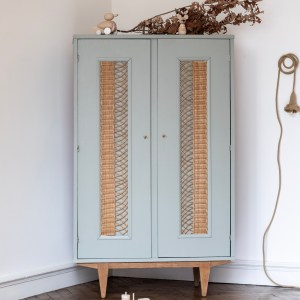 Armoire en rotin vintage Trendy Little