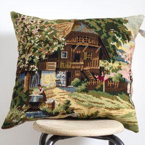 coussin tapisserie vintage, par trendy Little