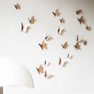 envolée de papillon cuivre trendy little