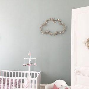Créations fleurs séchées Trendy Little dans la chambre d'Emmanuelle