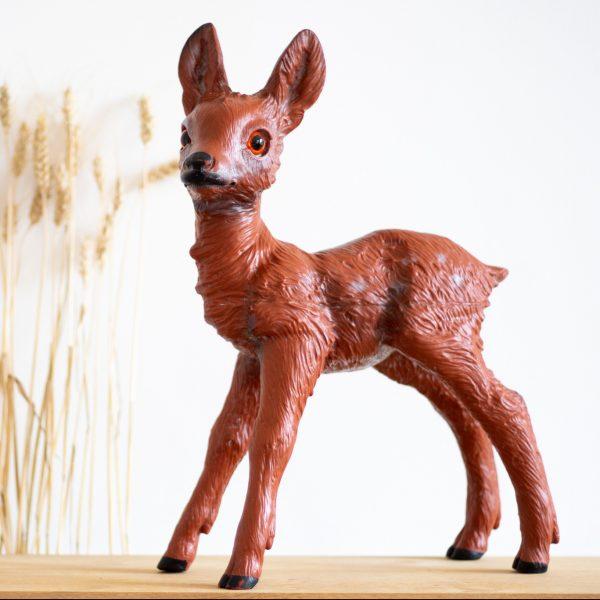 Figurine de faon vintage