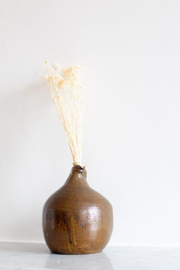 Carafe en grès vintage chiné par Trendy Little