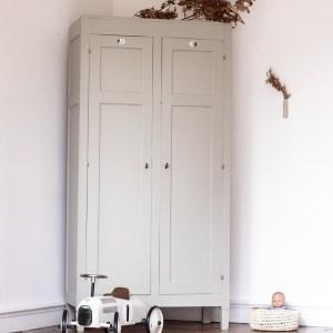 Armoire parisienne grise Trendy Little