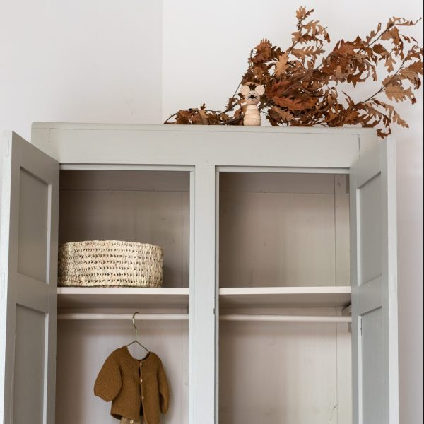 Armoire parisienne grise Trendy Little