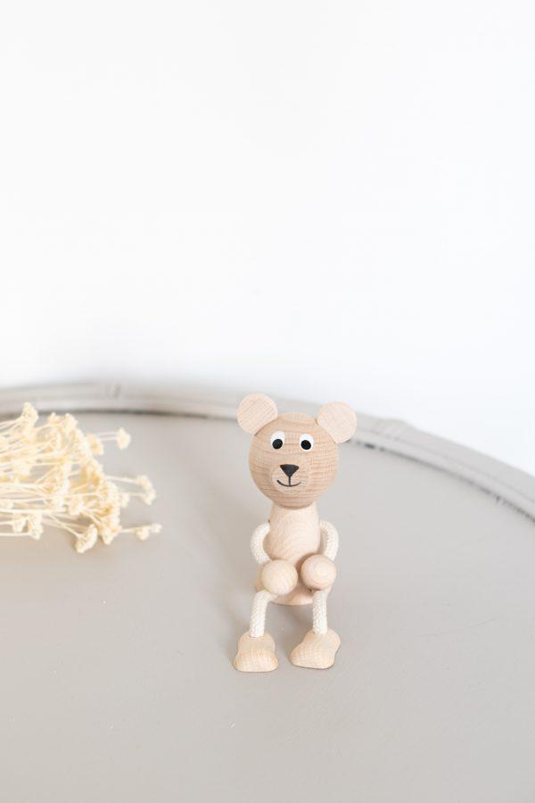 Ours jouet en bois pour enfant, vendu par Trendy Little