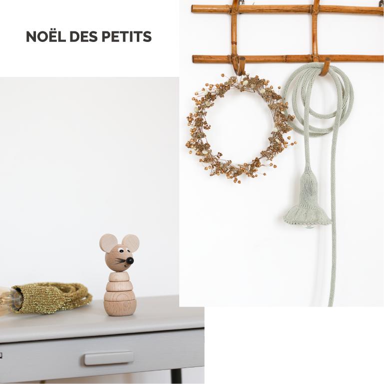 Sélection de cadeaux de Noël pour les enfants : jouets en bois, décoration pour la chambre d'enfant