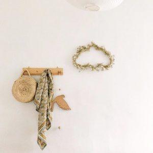 Nuage fleuri confectionné par Trendy Little chez Cécile Fossey, @octobre_et_mai