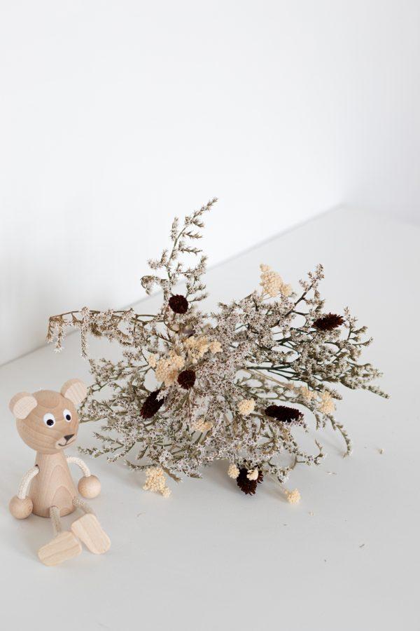 Bouquet de fleurs séchées réalisé par l'atelier Trendy Little