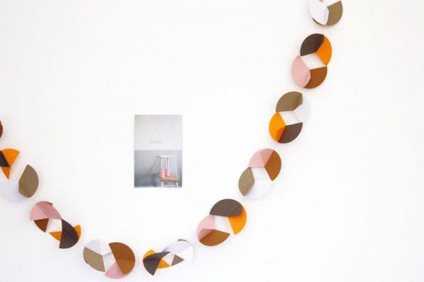 Guirlande de papier créée par Trendy Little