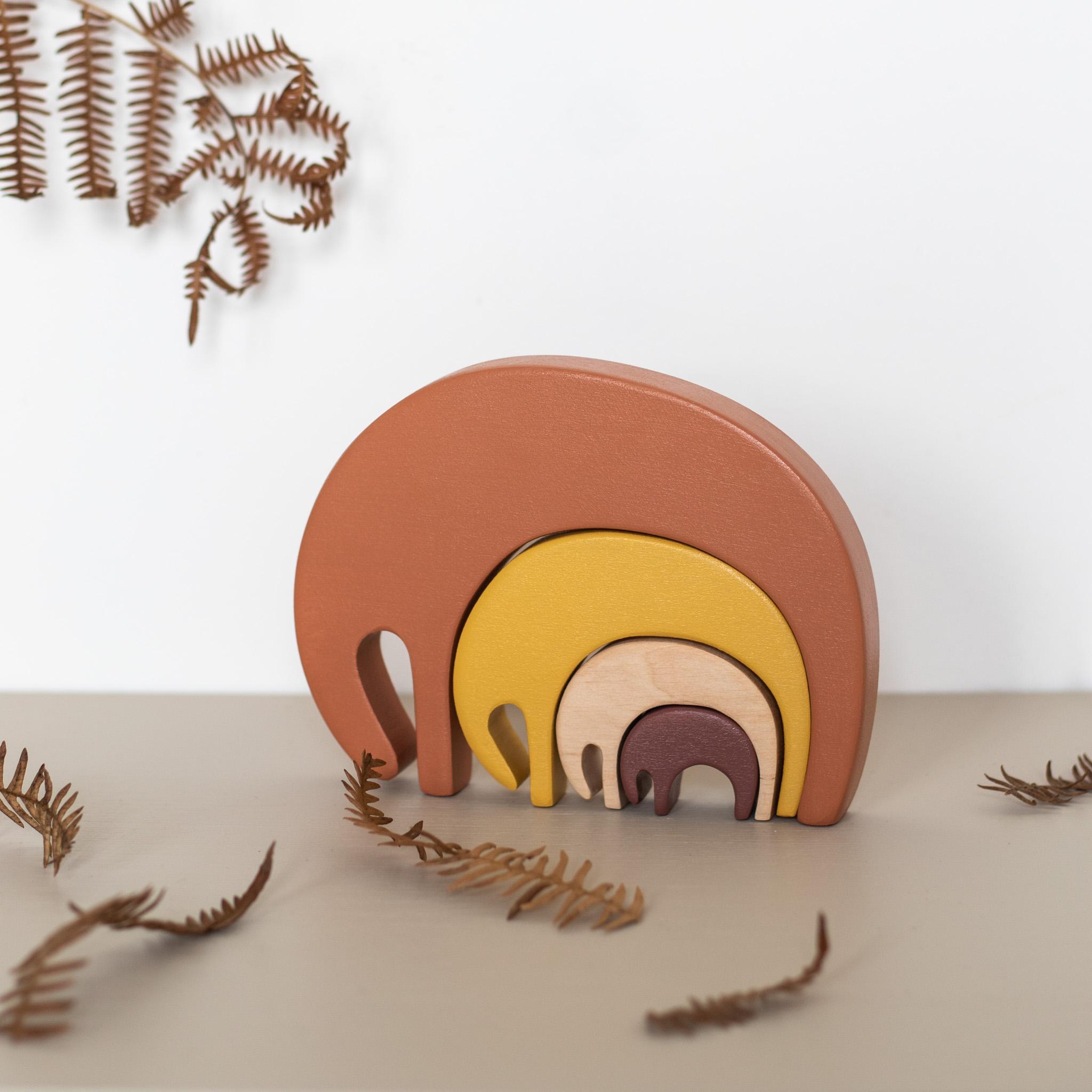 Prénom Paloma en fleurs séchées et jouet en bois Sarah and Bendrix pour enfant, fabriqué par Trendy Little