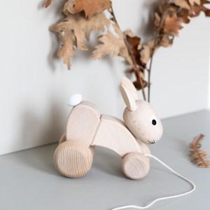 Lapin jouet en bois Sarah and Bendrix