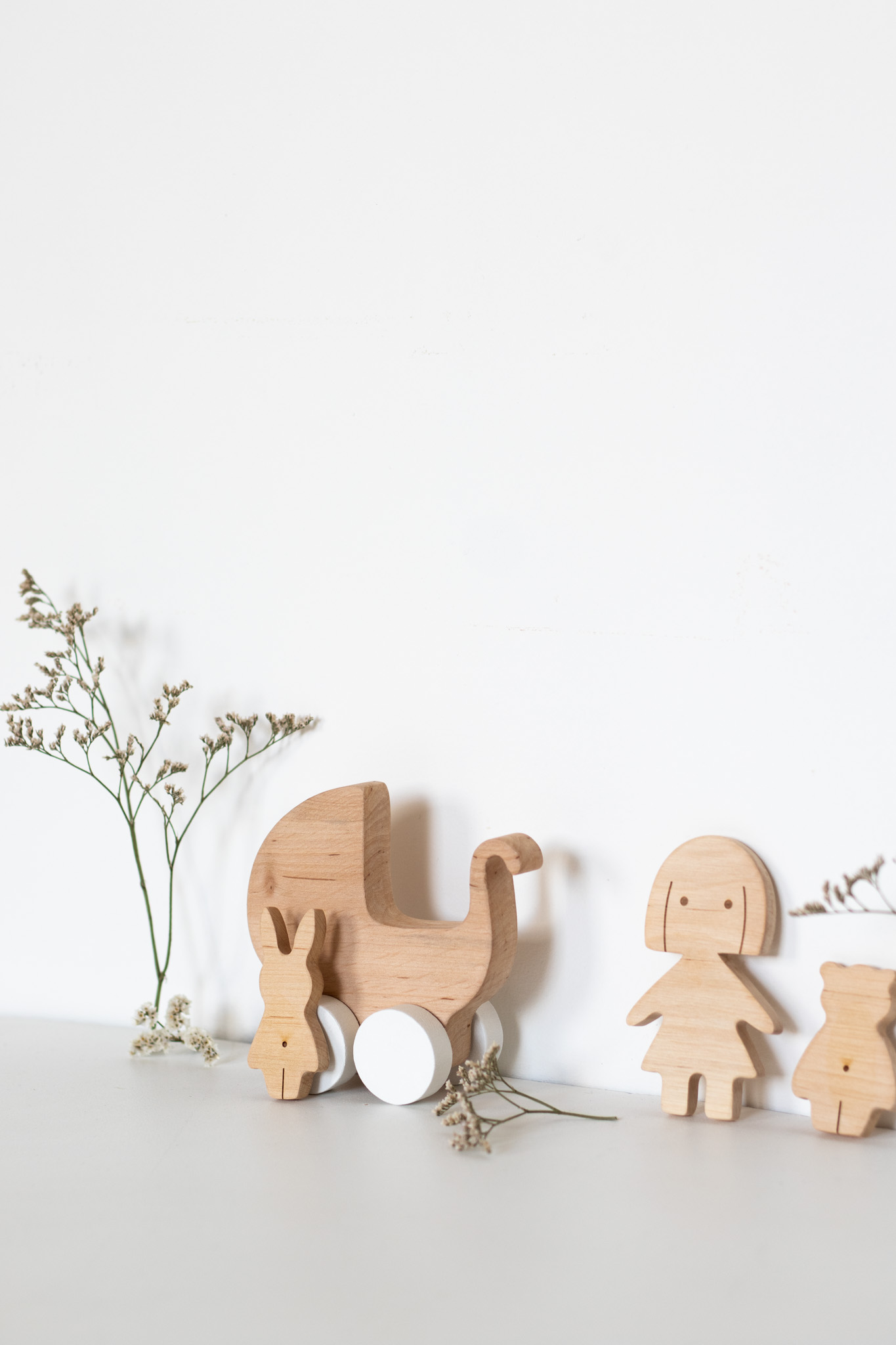 Kit jouet en bois petite fille Pinchtoys