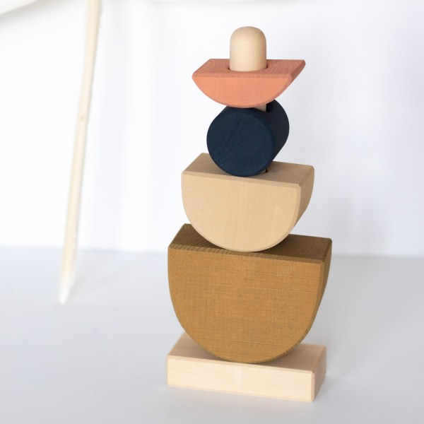 Jeu en bois à empiler Raduga Grez par Trendy Little