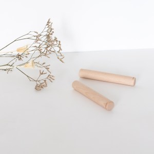 Claves en bois, instrument de musique pour bébé par Nina & Miles