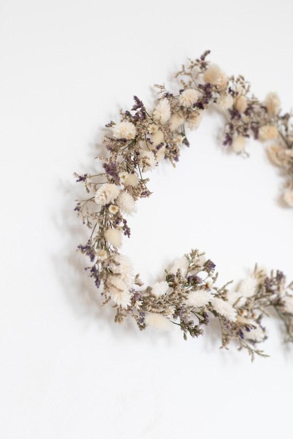 Nuage de fleurs séchées Trendy Little